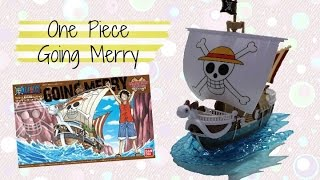 One Piece Going Merry Ship Model Kit
