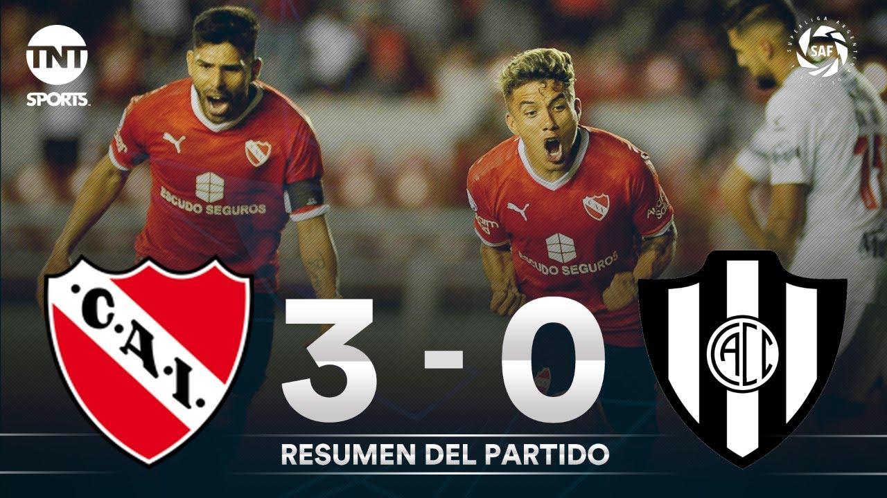 Resumen de Independiente vs Central Córdoba (3-0)   Fecha 23 - Superliga Argentina 2019/2020