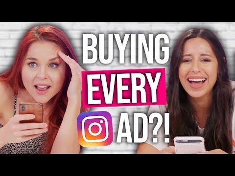We Buy Everything Instagram Advertises in 10 Minutes!