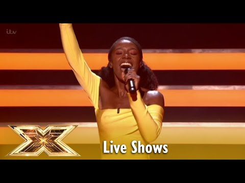Shan Ako BLOWS The ROOF With Billie Holiday麓s  Summertime  | Live Shows 5 | The X Factor UK 2018
