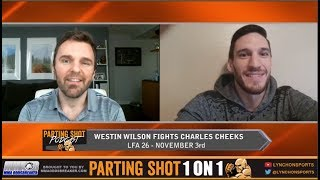 Westin Wilson talks short notice fight at LFA 26 and carrying the torch as a Mormon fighter