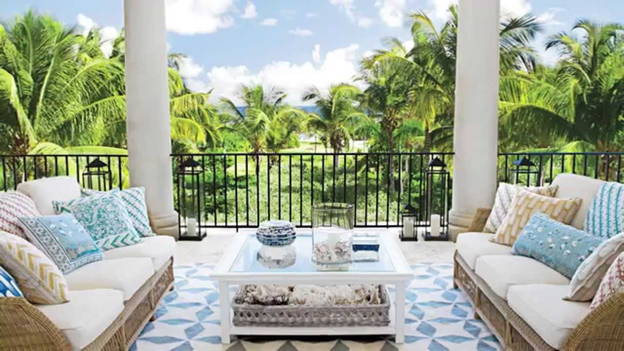 How To Create A Relaxing Outdoor Living Room | Seaside Design | Coastal  Living   YouTube