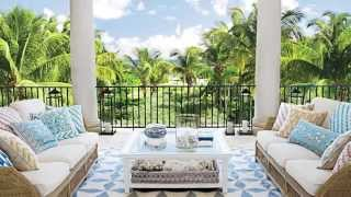 How To Create a Relaxing Outdoor Living Room | Seaside Design | Coastal Living