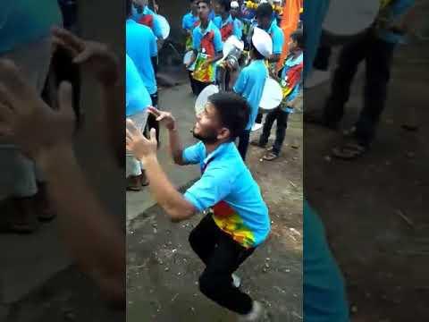 Crazy dance on Banjo music funny Agri boy