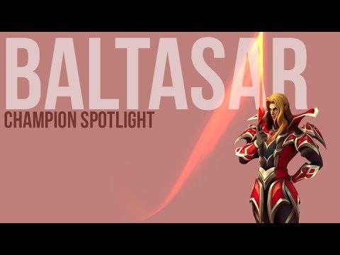 CHAMPION SPOTLIGHT - BALTASAR THE FIRE VAMPIRE