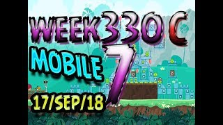 Angry Birds Friends Tournament Level 7 Week 330-C  MOBILE Highscore POWER-UP walkthrough
