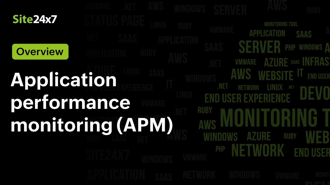 Site24x7 Application Performance Monitoring