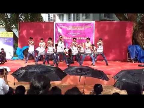 V infected crew St Aloysius College Mangalore