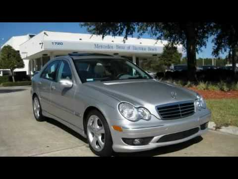 2005 mercedes benz c320 sport daytona beach fl youtube for Mercedes benz daytona beach