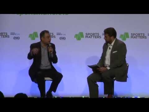 FOX International Channel's CEO Zubin Gandevia at Sports Matters 2015