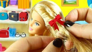 30 EASY BARBIE DOLL LIFE HACKS - simplekidscrafts
