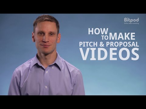 How to make pitch and proposal videos - Video marketing for business #9
