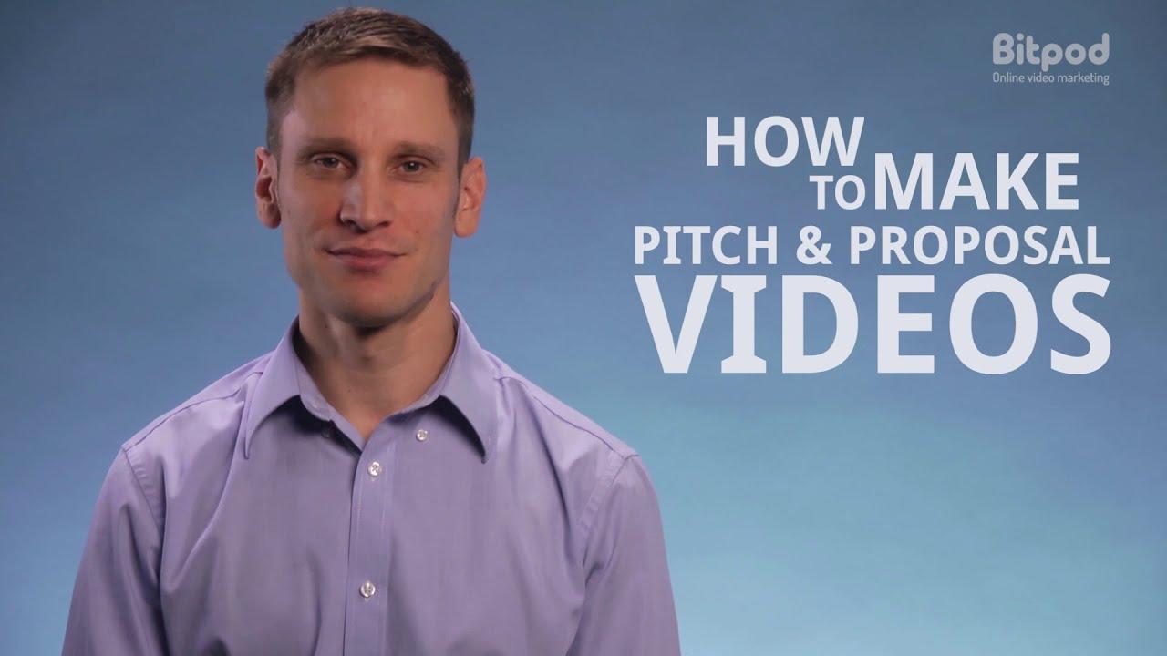 video marketing proposal