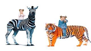 Влог Злата в зоопарке с подружкой. Развлечения для детей Vlog for kids