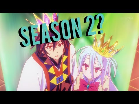 No Game No Life Season 2, News, Updates, and Release Dates