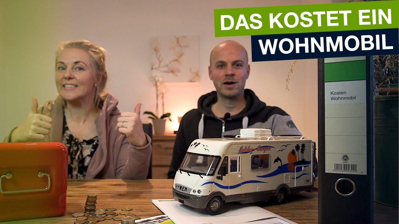 Wohnmobil Kosten im Jahr - Das kostet unser Kastenwagen im Unterhalt!