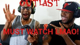 outlast gameplay funniest reaction ever guy runs out of room