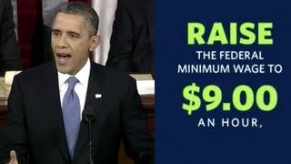 Obama: Raise Minimum Wage to $9/hr