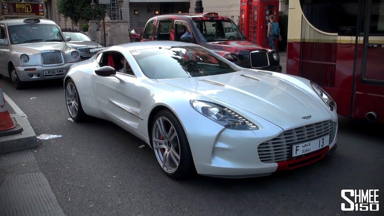 Aston Martin One Q Series Arab Hypercar In London Youtube