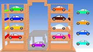 Car Colors Learn For Kids || Learning Colors and Nursery Rhymes For Children