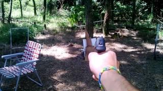 prueba de balstica de 9mm y 45 acp en campito 15 01 15