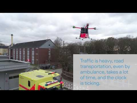 Drone transport solution for medical samples