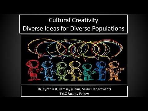Cultural Creativity: Diverse Ideas for Diverse Populations