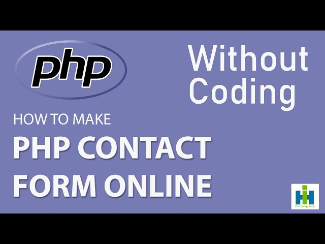 Create Web Form without coding Sends Email and Auto-response Email