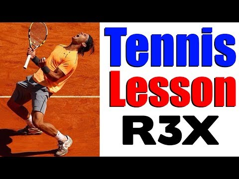 Play Tennis Like The Pros Using The R3X System