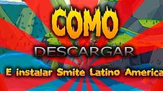 Como Descargar e Instalar El Juego Smite Level Up Latin American