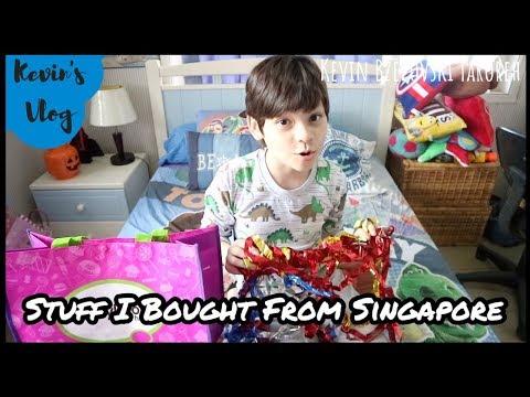 Bongkar Koper Pulang Singapur   Stuff I Bought From Singapore   Travel Vlog Indonesia