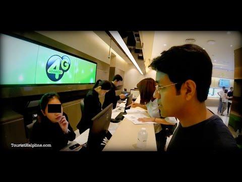 Getting a tourist sim in Bangkok : Don't buy at the Airport (AIS vs. DTAC vs TrueMove)