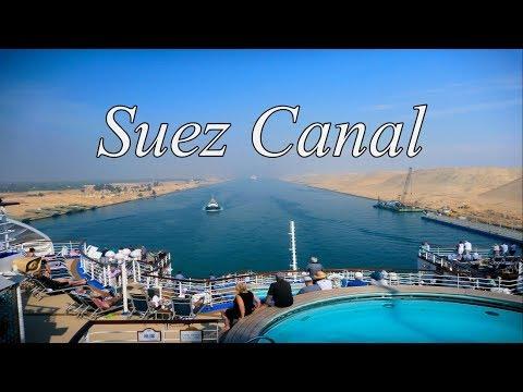 Suez Canal Transit - Sapphire Princess