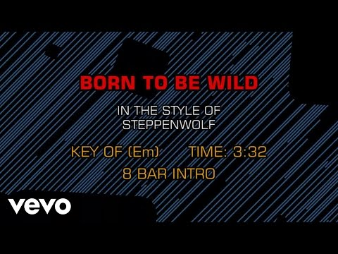 Steppenwolf - Born To Be Wild (Karaoke)