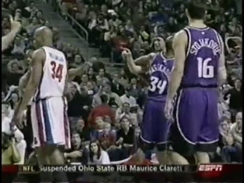 Corliss Williamson Levels Brad Miller