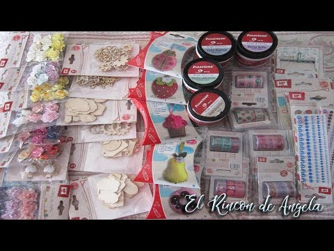 Haul de materiales MP para manualidades y scrapbooking -Diy tutoriales