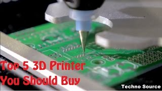 5 Best 3D Printers 2016