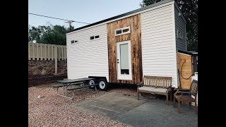 24ft Custom Tiny Home On Wheels - Looks Real Cool