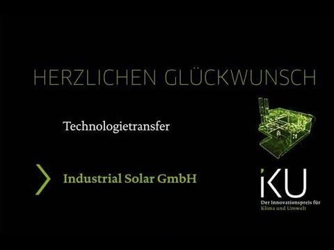Preisträger IKU 2015 − Industrial Solar GmbH