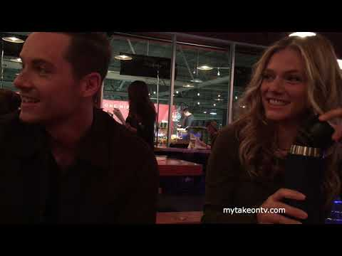ONE CHICAGO DAY 2018: Jesse Lee Soffer & Tracy Spiridakos p CHICAGO PD