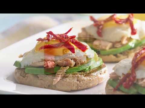muffins-anglais-aux-œufs-frits-et-au-thon---recette-de-clover-leaf