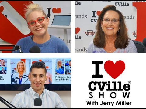 Kelly Jackson And Barbara Lundgren On The I Love CVille Show!