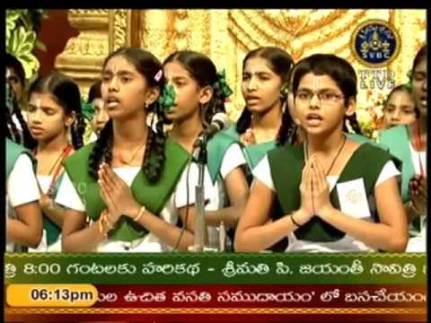 SVBC TTD-Srinivasa Gadhyam Tirumala14-10-15