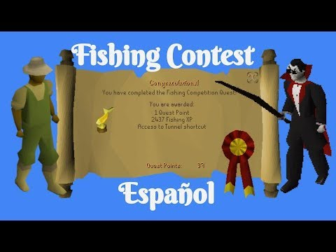 [OSRS] Fishing Contest (Español)