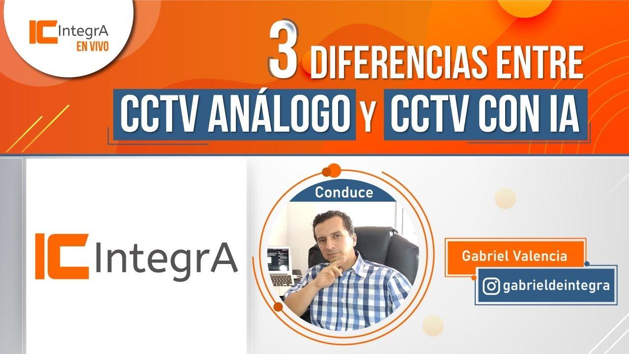 🔴3 Diferencias entre CCTV análogo y CCTV con inteligencia artificial