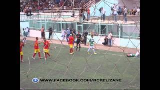 جانب من مباراة اتحاد حجوط 1 سريع غليزان 0 الرابطة المحترفة الثانية 19-09-2014