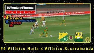 Winning Eleven 2002: Fútbol Colombiano 2018 (PS1) #4 Atlético Huila x Atlético Bucaramanga