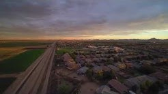 Santan Valley in Drone