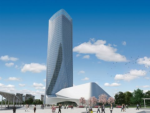 CityLife Milano Office Tower by Zaha Hadid in Milan, Italy