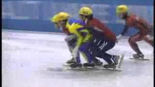 ソルトレーク五輪 男子ショートトラック1000m決勝